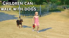 Children Can Walk With Dogs - The Sims 4 Catalog Sims 4 Game Mods, Sims Mods, The Sims 3 Pets, Sims 4 Toddler Clothes, Sims 4 Expansions, Sims 4 Family, Play Sims 4, Muebles Sims 4 Cc, Sims 4 Children