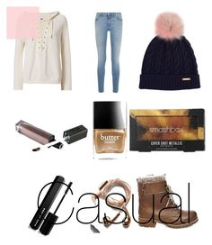 """""""Casual"""" by angei-1 on Polyvore featuring NSF, Givenchy, Burberry, Butter London, Smashbox, Marc Jacobs, Steve Madden and Happy Plugs"""
