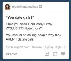"""This perfect response to: """"You date girls?"""" 