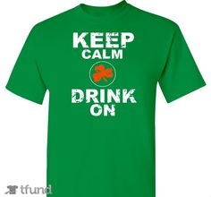 Wear it with pride, or give it as a gift for St. Patty's Day 2016! Great for bar crawls!