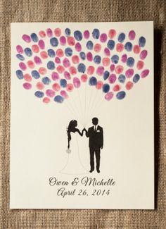 Printable Guest Book Alternative Balloon by freshlovecreations, $12.00 Diy Wedding, Dream Wedding, Guest Book Alternatives, Balloons, Printables, Handmade Gifts, Frame, Books, Etsy