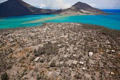 Rabaul- after the eruption