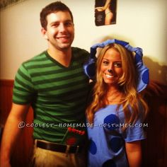 Last Minute Blues Clues/Steve Couple's Costume ... This website is the Pinterest of costumes