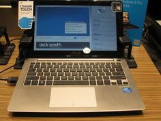 Emma, Dick Smith.  ASUS Touch notebook, $478.00