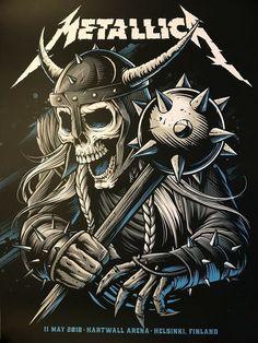 Heavy Metal Rock, Heavy Metal Music, Heavy Metal Bands, Metallica Concert, Metallica Art, Arte Punk, Rock Y Metal, Rock Band Posters, Metal Albums