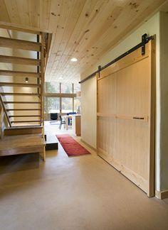 Meadow cabin by Balance Associates, Architects, http://www.balanceassociates.com/