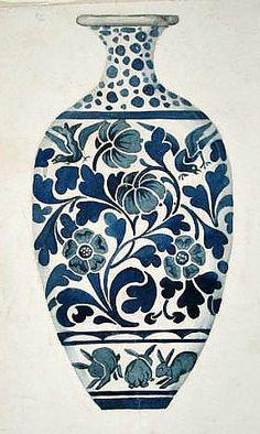 Morris & Co.  Design for a Vase  19th century