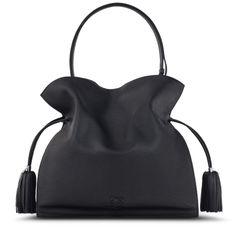 LOEWE Flamenco 36 bag black
