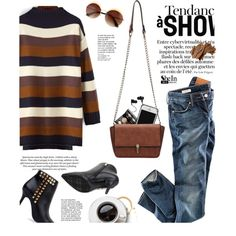 Shop - Shein by yexyka on Polyvore featuring polyvore, fashion, style, H&M, Bobbi Brown Cosmetics, Vincent Longo, Monster, women's clothing, women's fashion and women