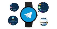 The Telegram instant messaging (IM) app is now available on Android Wear its developers announced on Thursday. Android Wear, Best Android, Android Apps, Denis Robert, Telegram App, Im App, Mac App Store, Find Your Friends, Smart Home Technology