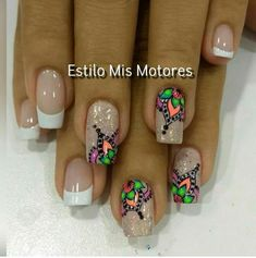 Gorgeous Nails, Manicure And Pedicure, Nail Art Designs, Finger, Hair Beauty, Tattoos, Gel Nail, Work Nails, Enamel