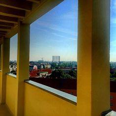 #penthouseview #gasometer #berlin #schöneberg #friedenau #rinstagood #instaberlin #tvstudio #güntherjauch #daserste #view #summertime #innsbruckerplatz #germany