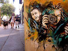 Street art by Rome-based Alice Pasquini