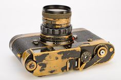 Leitz Leica M2 with Leicavit MP Black Paint + 50mm Summicron F2