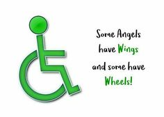 Some Angels have wings and some have wheels! Cerebral Palsy Quotes, Cerebral Palsy Awareness, Disability Awareness, Special Needs Quotes, Special Needs Kids, Disability Quotes, Rare Genetic Disorders, Human Body Unit, Awareness Tattoo
