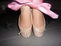 Tied up Pink Ballet Shoes, Ballerina Flats, Ballet Flats, Ballet Dance, Dance Shoes, Sexy Legs And Heels, Slippers, Glamour, Fashion