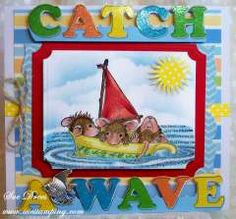 """Catch a wave"" by Sue  Drees on House-Mouse Designs®"