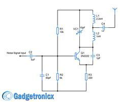 Cell Phone Detector Circuit | Pinterest | Circuit diagram, Circuits ...