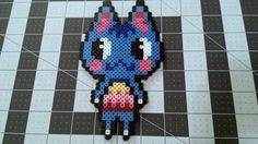 Custom Animal Crossing Rosie Perler Bead Sprites par DogerCraft