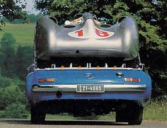 Mercedes Race Transporter by Brimen, via Flickr