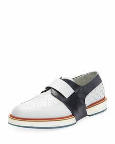 5a5a2c18e Rudolph Perforated Runway Slip-On by Salvatore Ferragamo Mens Designer  Shoes