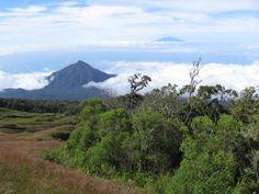 EQUATORIAL GUINEA - Pico de Basilé - The highest mountain on the island of Bioko.