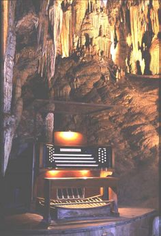 """The """"Stalagpipe Organ"""", I have heard this with my own ears and it is so beautiful!"""