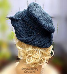 Womens Crochet Hat Pattern Crochet Pattern Hat Crochet Turban Pattern Crochet Patterns for Womens Hat SAMANTHA Hat Samantha Pattern by strawberrycouture by #strawberrycouture on #Etsy