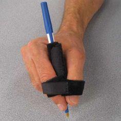 Benik Utensil Strap with Pen Occupational Therapy Activities, Motor Activities, Sensory Activities, Hand Therapy, Physical Therapy, Physical Education, Quadriplegic, Pencil Grip, Adaptive Equipment