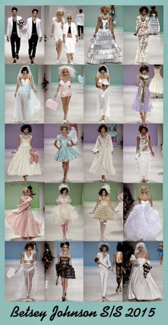 NYC FASHION WEEK S/S 2015: Betsey Johnson |Crafty Lady Abby