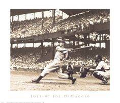 Joltin' Joe DiMaggio Bettmann Archive Fine Art Print Poster