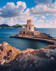 Castle in Methoni by Nickolas Koursioumpas / 500px
