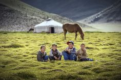500px / Mongolian's Kids by Anuparb Papapan