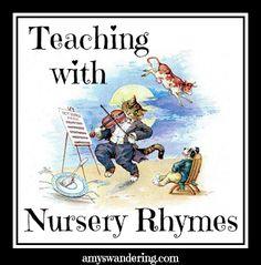 *The Graphics Fairy LLC*: Vintage Nursery Rhyme Clip Art - Hey Diddle Diddle. Nursery Rhymes Preschool, Free Preschool, Preschool Kindergarten, Preschool Songs, Preschool Learning, Visual Literacy, Literacy Activities, Listening Activities, Teaching Resources