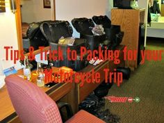 8 Motorcycle Packing Tips to Help You Save Space - The Legendary Buffalo Chip