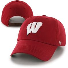 '47 Brand Wisconsin Badgers Bergen Adjustable Hat