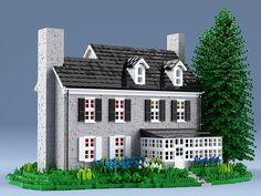 This LEGO house sets new standards-Dieses LEGO Haus setzt neue Maßstäbe This . This LEGO house sets new standards - This LEGO house sets new standards This LEGO house sets new standards - # House Lego Duplo, Lego Ninjago, Lego Moc, Lego Jurassic World, Lego Juniors, Minecraft City, Lego City, Minecraft Buildings, Lego Disney