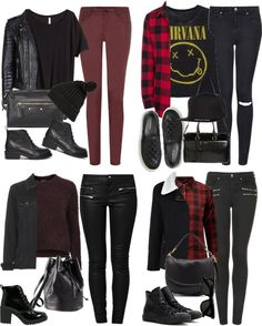 Luke A/W Outfits by fivesecondsofinspiration featuring a denim jacket
