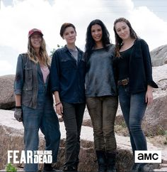 Walking Dead Tv Series, Fear The Walking Dead, Mandy Moore Short Hair, Danay Garcia, Alicia Clark, Abraham Ford, Clarke And Lexa, Maggie Grace, Alycia Debnam Carey