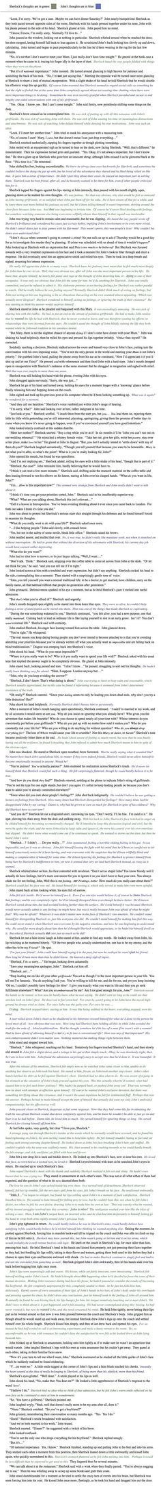 Okay, I know that I keep saying I don't ship johnlock, and I don't, but this was just way too cute to pass up on reading and on pinning.: