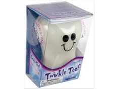 twinkle toof glow in the dark tooth box