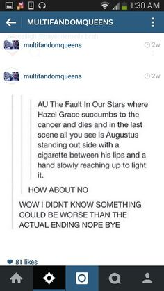 *sucks in a deep breath* Hazel Grace, Tfios, The Fault In Our Stars, Deep Breath, Cancer, Scene, Stage