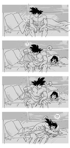 Dragon Ball Z, Dragon Ball Image, Goku Drawing, Ball Drawing, Otaku Anime, Manga Anime, Anime Art, Goku And Chichi, Fantasy Art Women