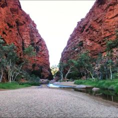 Simpsons Gap, Alice Springs, Australia. Stayed in great backpackers nearby and worked a couple of days on a carnival stall