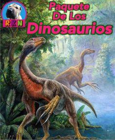 Tiranosaurios, Raptores, los Saurópodos, Anquilosaurios, Ceratopsians, Hadrosaurs, Ornitomímidos, Estegosaurios, Dinosaurios emplumados y los dinosaurios completos.  Este paquete incluye - 10 presentaciones interactivas en PowerPoint - Una breve presentación de la escala geológico de tiempo  - Numerosas actividades de mayor pensamiento - y mas. por Ryan Nygren (foto por http://commons.wikimedia.org/wiki/File:Beipiaosaurus.jpg