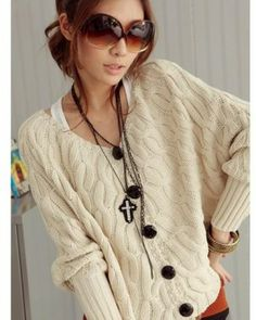 women's fall fashion | ... Cotton New Women's Fall Fashion Cardigans