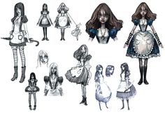 Alice Dresses - Characters & Art - Alice: Madness Returns