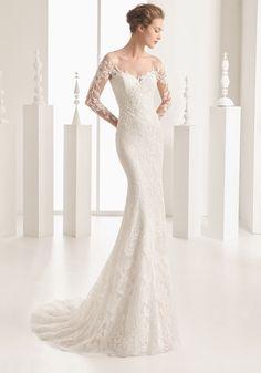 Rosa Clara 2017 Bridal Collection - Designer Wedding Dresses - Hong Kong- illusion long sleeves sexy wedding dress in lace