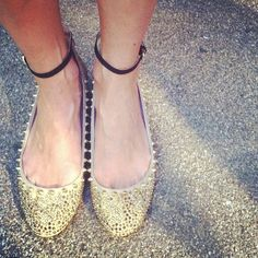 Love zee Ankle straps and studs