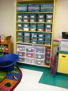 Classroom Tour :) awesome organized supplies